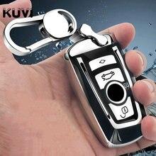 Авто-Стайлинг Авто красочный чехол для ключей чехол для Bmw новый 1, 3, 4, 5, 6, 7, серия F10 F20 F30 E60 E90 E46 G30 аксессуары