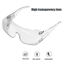 Lunettes de sécurité pour hommes et femmes, 10 pièces, verres résistants au vent, Protection des yeux, transparents