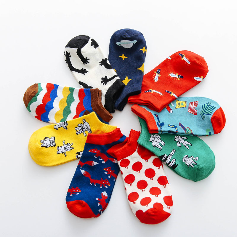 The Spring And Autumn Period And The New Japanese  Fuzzy Socks  Kawaii Fashion Brand Women Socks 1304