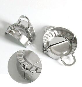 Инструменты для приготовления пельменей Jiaozi, прессформа для приготовления экологически чистых кондитерских изделий, кухонные инструменты из нержавеющей стали, резак для теста, кухонные инструменты