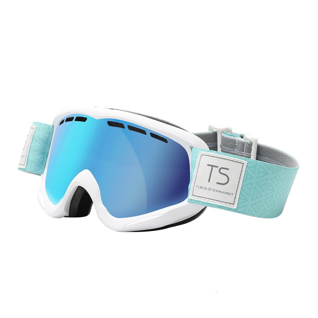 Xiaomi TS cylindre neige miroir cylindrique neige miroir Uv + antibrouillard résistance aux chocs légèreté Xiomi verre pour enfants adulte - 6