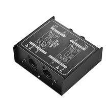 Signal-Converter Balanced Audio-Box Professional Injection DIRECT Dual-Channel Passive