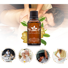 HJFCY Cold-Repellent Plant Therapy Lymphatic Detoxification Ginger Oil Natural Essence Antiperspirant Body Massage Bath Care