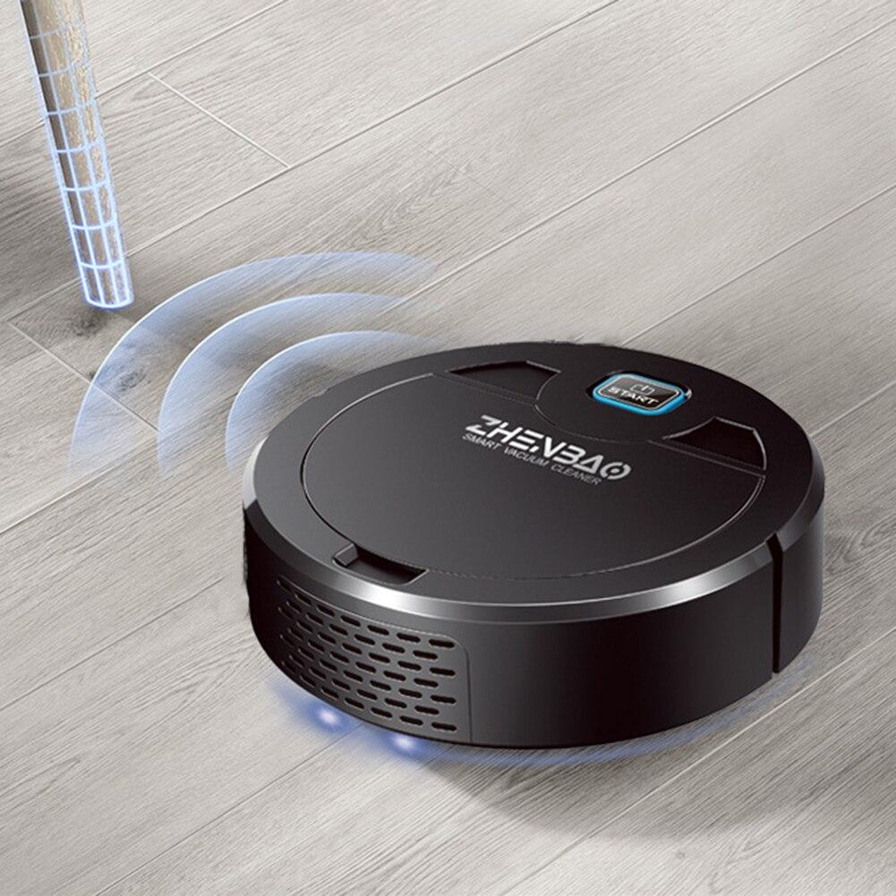 Умный робот-пылесос для сухой и влажной уборки, с USB-зарядкой