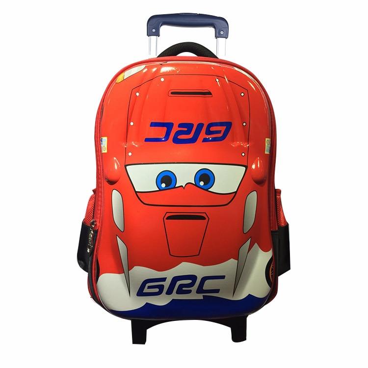 Mochila para niños, mochila escolar para niños, mochila impermeable de alta calidad para la escuela, ropa de mochila resistente a la carga, bolso con ruedas para niños - 4