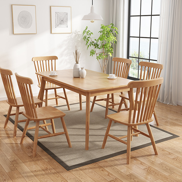 Nordic solid wood dining chair Windsor    leisure cafe all    stool  modern minimalist