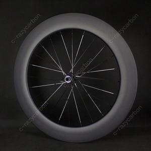 Image 5 - משלוח חינם שוויצרי 350 כביש אופניים U צורת Aero גלגלי כביש דיסק בלם DT אופני מירוץ Centerlock Thru Axle ללא פנימית /נימוק מכריע