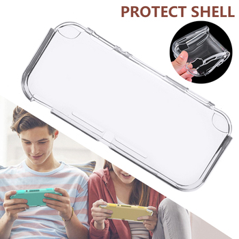 цена на Case for Nintendo Switch Lite Soft Silicone Transparent Clear Cover for Nintendo Switch Lite Full Protective Case Accessorie