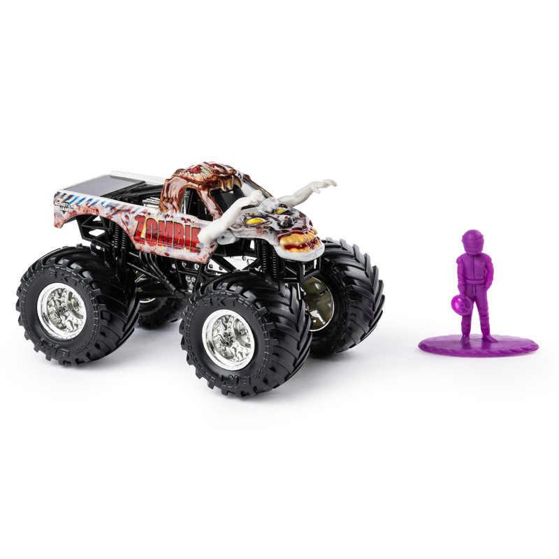 Asli Spin Guru Monster Jam Truk Rakasa Anak Anak Mainan Paduan Model Mobil Inersia Four-Wheel Drive Off- jalan Kendaraan Hadiah