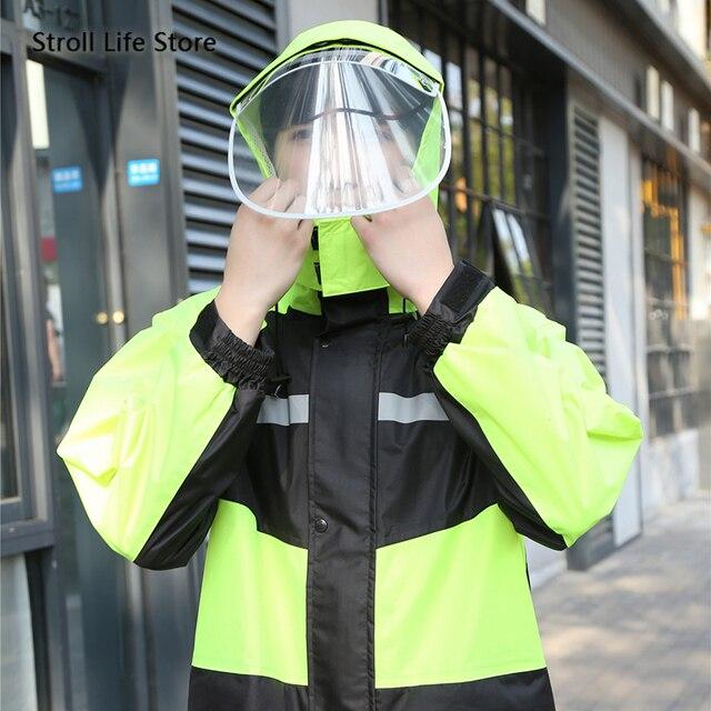 Raincoat Rain Pants Suit Men Adult Motorcycle Waterproof Rain Coat Jacket Mens Sports Suits Rainwear Casaco Masculino Gift Ideas 1