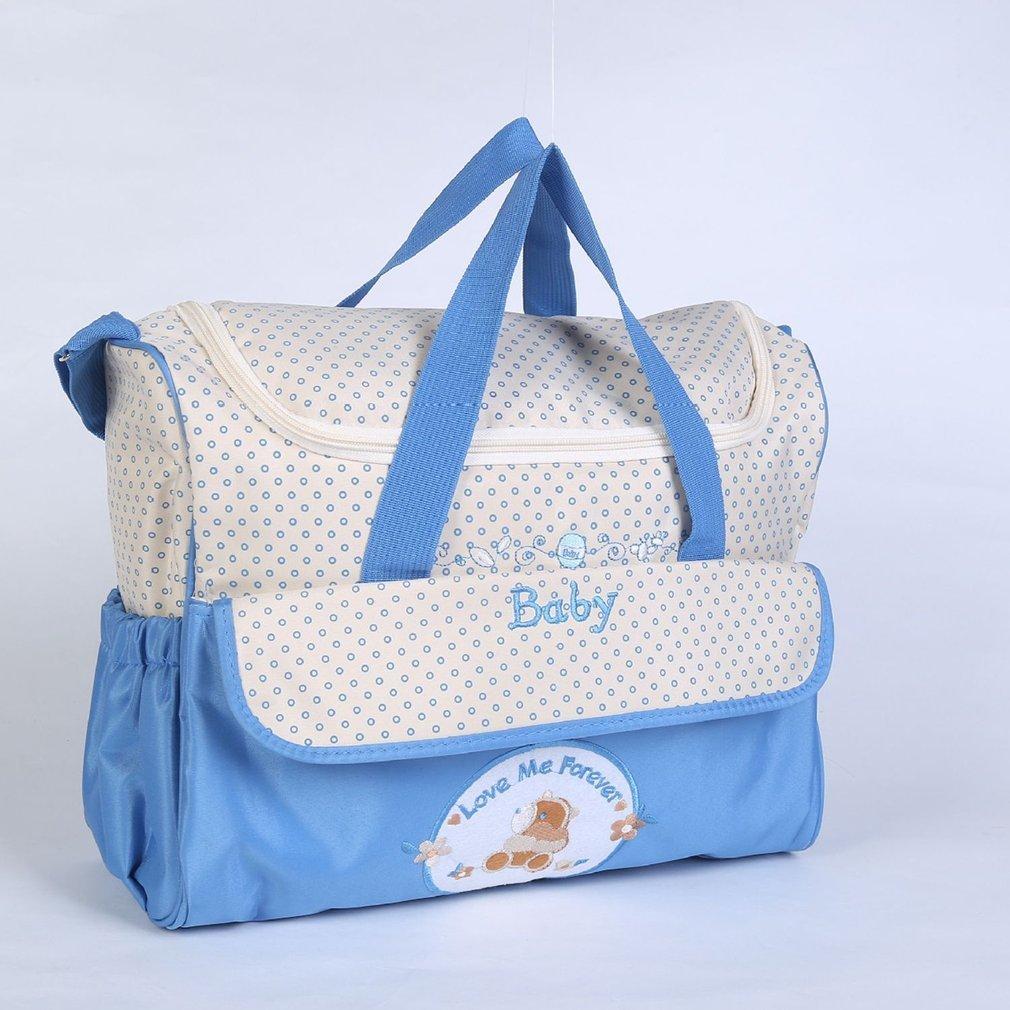 Large Capacity Environment Friendly Mummy Bag Multifunctional Shoulder Bag With Strap Handbag For Pregnant Women