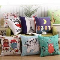 Скандинавский домашний декор для гостиной хит продаж подушка из ткани и хлопка 45*45 см cojines подушка детская