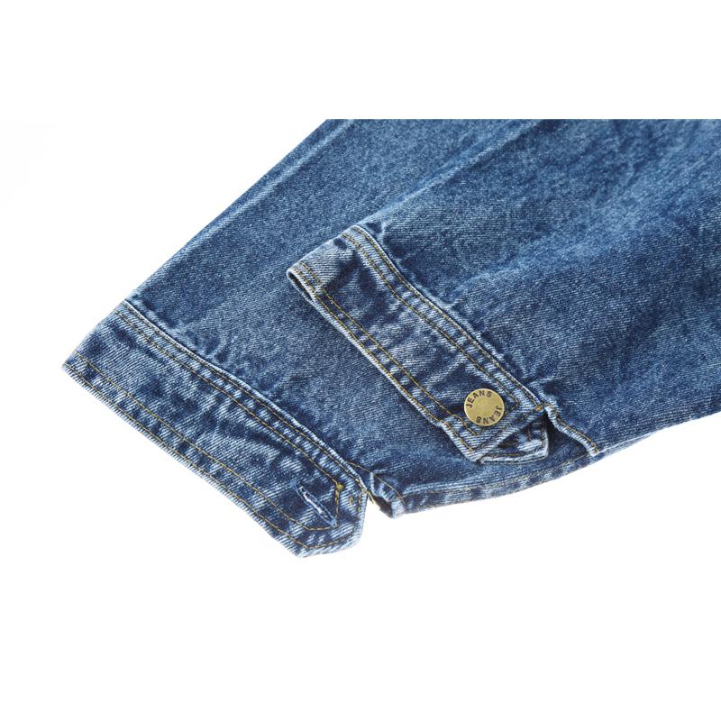 Vintage Knitted Cardigan Sweater Women Patchwork Denim Coat V Neck Long Sleeve Knitwear Casual Loose Outwear Female Tops
