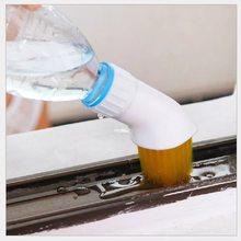 Чистящее приспособление щетка для двери щелевая креативная портативная