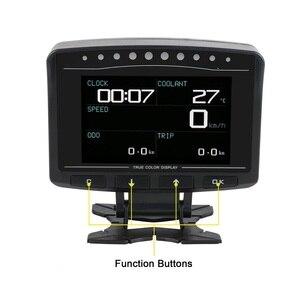 Image 1 - AUTOOL pantalla HUD X60 X50 Pro para coche, detección de fallos, indicador de presión de combustible, voltímetro, Temperatu