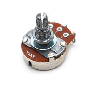 Полный размер A500K/B500K/A250K/B250K сплит вал 18 мм гитарный громкий тональный большой Pots потенциометр для электрогитарных басов