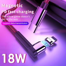 Magnetic USB Type C Cable for iPhone XR
