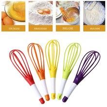 Инструменты венчик для взбивания яиц Вес: 57 г 30*2*2 см случайный цвет лягушка Яичница пищевой пластик устройство для волос дома Pp материал для хранения