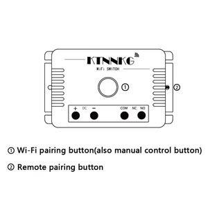 Image 5 - TUYA interruptor de césped de riego inteligente con Wi Fi, 1CH 24V DC 12V 36V 10A 433 Mhz receptor de relé remoto para control de voz DIY LED