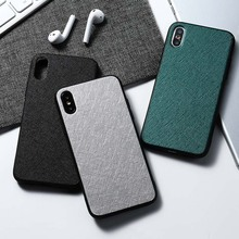 Fabric TPU Case For Samsung A50 A30 A20 A10 A40 A70 A750 A2 Core A6 A8 A9 Plus 2018 M10 M20 M30 Cover For Samsung Galaxy A50 A70 color tpu silicone frosted matte case for samsung galaxy j4 j6 s10 plus a9 a6 a8 a7 2018 a750 m10 m20 m30 a30 a40 a50 a70 cover