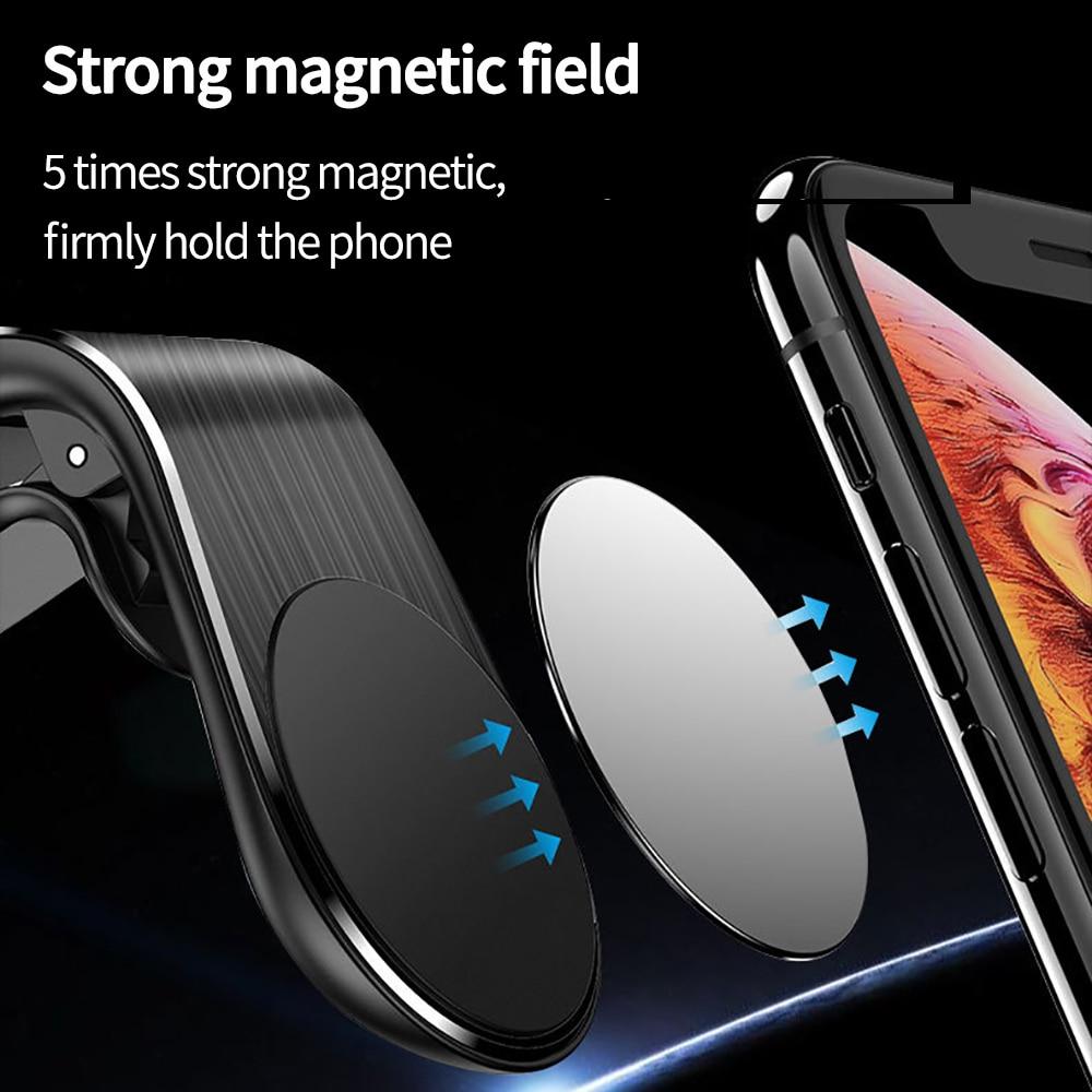 Magnetische Auto Telefoon Houder Air Vent Clip Mount Stand In Auto Voor Iphone 11 Samsung S10 Magneet Gps Mobiele Telefoon houders Connectfit 5