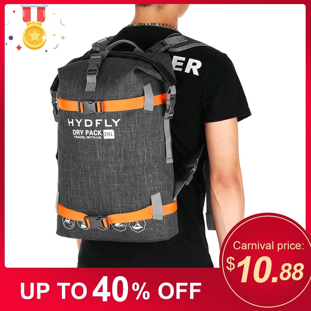 Outdoor Sport Bag Pack Sack  Waterproof Dry Bag River Trekking Floating Roll-top Backpack Drifting Water Sports Running Dry Bag