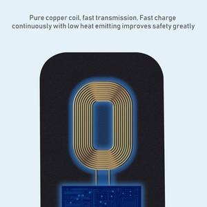 Image 5 - Redmi הערה 8T Qi טעינה אלחוטי מטען USB סוג C מקלט תיקון תיק בטוח טעינה אלחוטי עבור Xiaomi Redmi הערה 8T פרו
