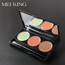 MEIKING 3 Colors Face Concealer Camouflage Cream Contour Pal