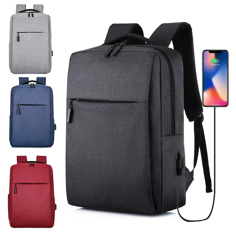 2020 New Laptop Usb Backpack School Bag Rucksack Anti Theft Men Backbag Travel Daypacks Male Leisure Backpack Mochila Women Gril 1