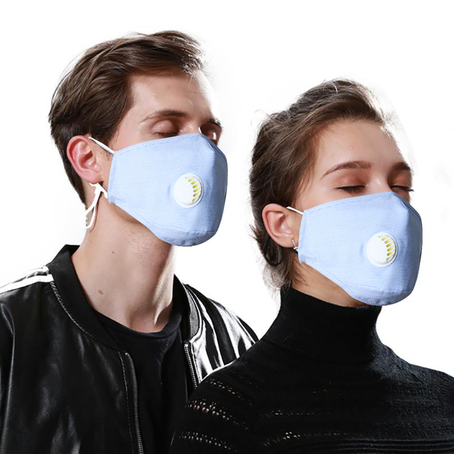 Face Mouth Mask Respirator Reusable Unisex Mask Breathable Anti-dust Haze Flu PM2.5 Face Masks Care For Travel Cycling D30 1