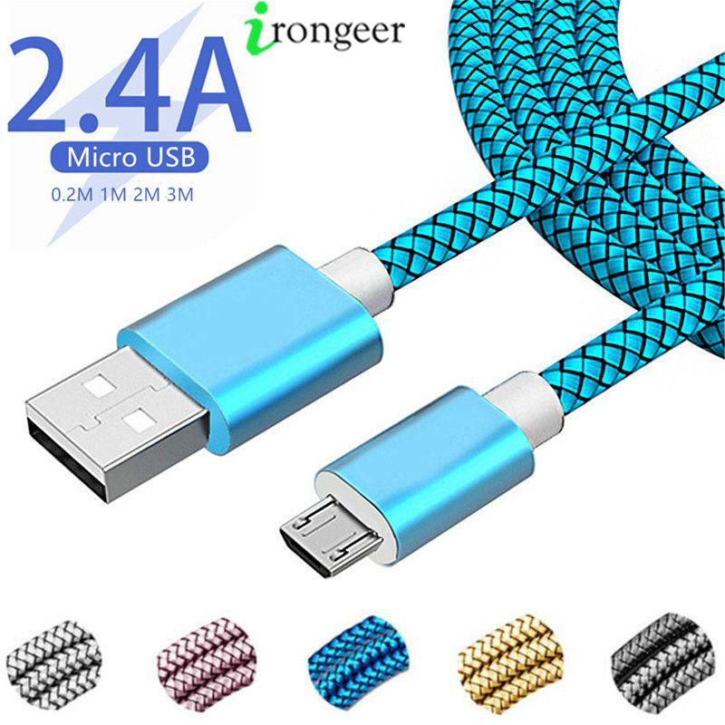 Кабель Micro USB для быстрой зарядки, 1 м, 2 м