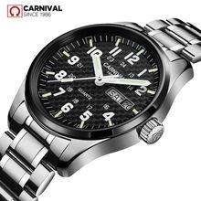 Switzerland Топ бренд карнавал роскошные часы мужские полностью