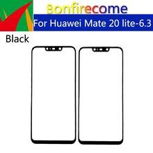 10 Chiếc \ Rất Nhiều Cho Huawei Mate 20 Lite LCD Trước Màn Hình Cảm Ứng Kính Bên Ngoài Ống Kính Thay Thế