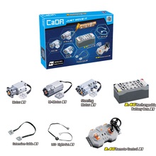 The motor the Technic Train Remote Control Battery Box Switch with Led