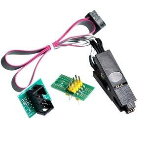 Image 3 - Hoge kwaliteit SOIC8 SOP8 Test Clip Voor EEPROM 93CXX/25CXX/24CXX in circuit programmeren op USB Programmeur TL866CS TL866A EZP2010