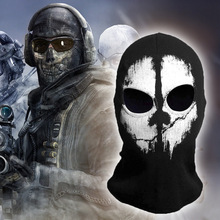 CS GO Mayitr Halloween Ghost Skull Motorcycle Balaclava Mask Cycling Full Face Game Cosplay Mask Protection