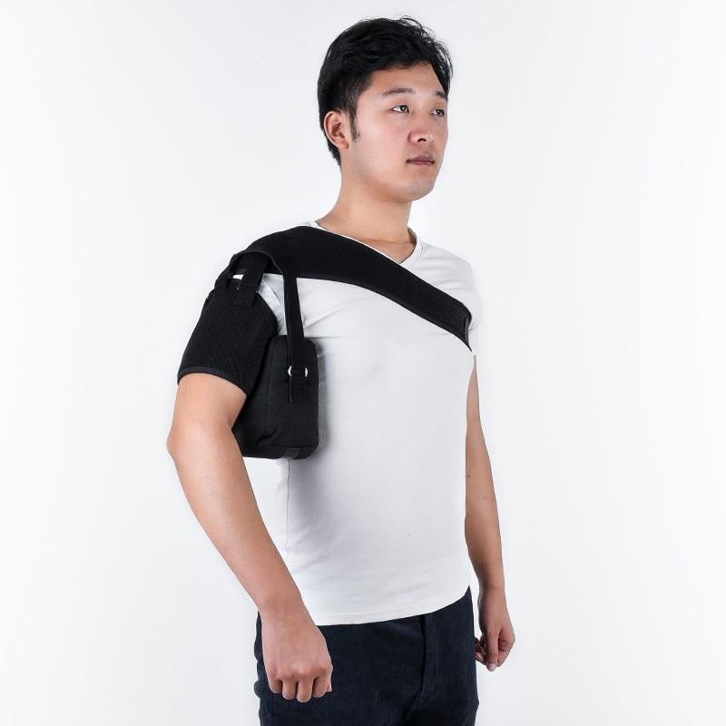 Old Man Hemiplegia Rehabilitation Shoulder Joint Pain Fixed Wrist Arm Protective Clothing Nursing Drag Shoulder Support Arm Frac