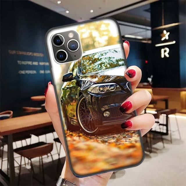 Hd Wallpaper Aesthetic Black Case For Apple Iphone 11 Pro Xr 7 8 6 6s Plus X Xs Max 5 5s Se Soft Tpu Silicone Phone Cover Case Phone Case Covers Aliexpress