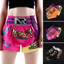 Muay thai шорты Профессиональные Санда боксерские костюмы для
