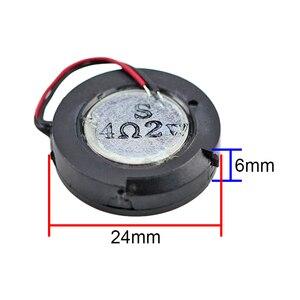 Image 5 - Ghxamp 24 Mm 1 Inch Woofer Luidspreker 4ohm 2W Mini Speaker Diy Voor Navigator Voice Digitale Luidsprekers 2 stuks