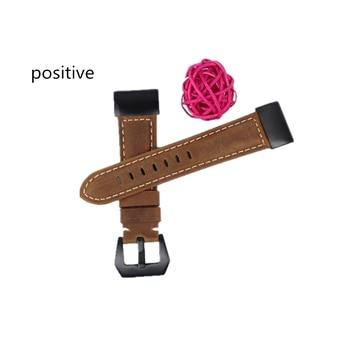 22mm 26mm Quick Release Easy Fit Watch Band for Garmin Fenix 6X 5X/5 6 fenix 3 Woven Genuine Leather Strap Sports 11.20 1