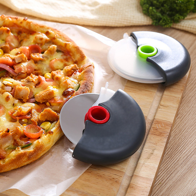 Stainless Steel Wheel Cutter for Pizza 2