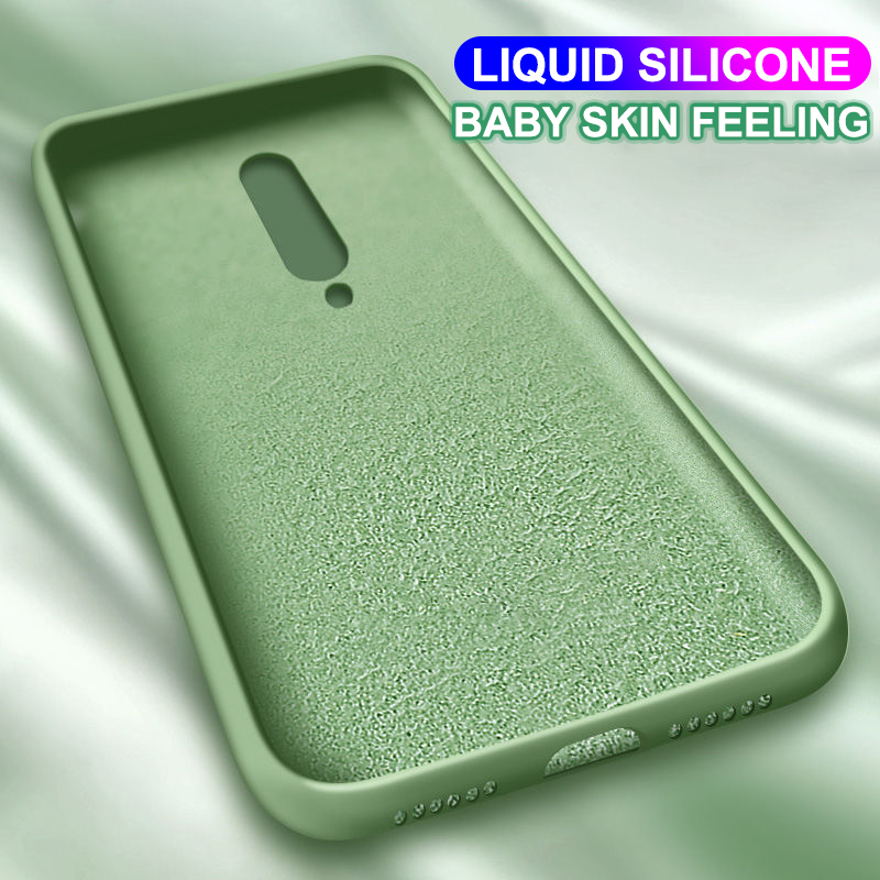 Original Liquid Silicone <font><b>Case</b></font> For <font><b>Oneplus</b></font> <font><b>6</b></font> 6T 7 7T Pro <font><b>Case</b></font> Back Cover For <font><b>Oneplus</b></font> <font><b>6</b></font> 6T 7 7T Pro <font><b>Case</b></font> Silicone Ultra Thin Soft image