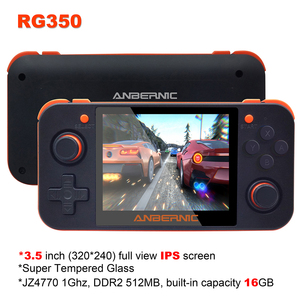 Image 5 - 새로운 ANBERNIC RG350 IPS 레트로 게임 RG350 비디오 게임 업그레이드 게임 콘솔 ps1 게임 64 비트 omendinux 3.5 인치 15000 + 게임 rg350