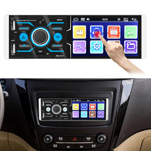 4.1 touchtouchtouchscreen autoradio áudio estéreo usb carregador bluetooth 4.2 controle de voz dc 12v carro mp5 vídeo fm player rádio multimídia