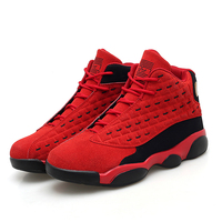 New Brand Basketball Shoes Men Women High top Sports Air Cushion Jordan Mens Shoes Comfortable Student Sneakers Hombre Athletic|Basketball Shoes| |  -