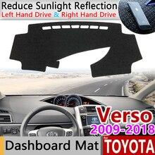 Для Toyota Verso 2009~ AR20 SportsVan Противоскользящий коврик для приборной панели Защита от солнца коврик накидка ковер аксессуары 2013