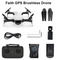 (4K Version) CFLY Faith GPS RC Foldable Drone Quadcopter Brushless Motor With 5G 4K Wifi FPV HD Camera