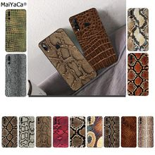 MaiYaCa Snake Skin Soft Shell Phone Cover for Huawei P10 lit