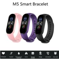 1PC Bluetooth Smart band Fitness Tracker pedometro cardiofrequenzimetro Monitor portatile impermeabile M5 Smart Sport Band